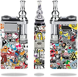 Innokin itaste VTR Vape E-Cig Mod Box Vinyl DECAL STICKER Skin Wrap / Cartoon Sticker Bomb