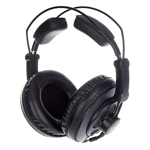 Superlux HD668B Negro Circumaural auricular - Auriculares (Circumaural, Alámbrico, 10-30000 Hz