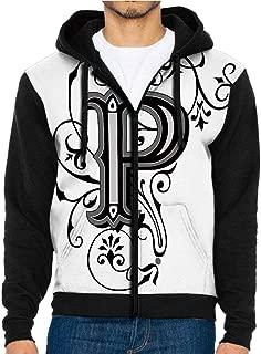 3D Printed Hoodie Sweatshirts,Inspired Initials Design,Hoodie Casual Pocket Sweatshirt