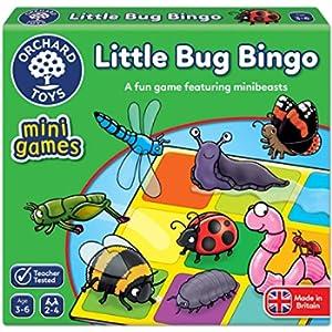 Orchard Toys Little Bug Bingo Mini/Viaggio Gioco