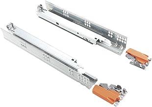 BLUM Tandem ladegeleider 500mm volledig uittrekbaar met Blumotion (=Softclose); 1 paar incl. koppeling
