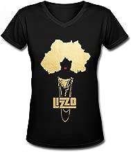 CLASISFF Llizzo Rapper Black Tshirt for Womens