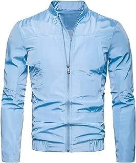 Howme-Men Waterproof Stand Collar Outdoor Lightweight Outwear Jacket