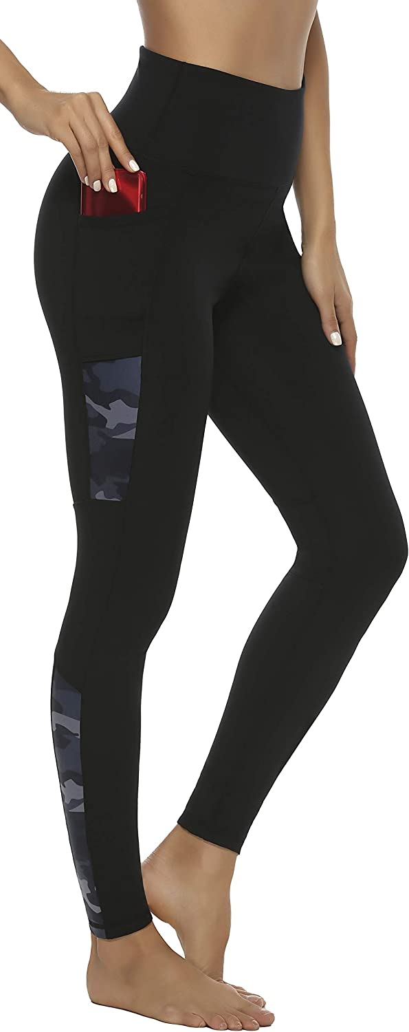High Waisted Leggings with Pockets Workout Exercise Leggings for Women Persit Womens Yoga Pants