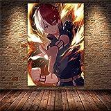 wZUN Cartel de impresión de Anime Academia Lienzo Pintura Artista decoración del hogar habitación de Dibujos Animados 60x80 Sin Marco