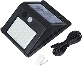 Outdoor 30 LEDs Split Solar Powered Light Bulb PIR Motion Sensor 3 Modes Waterproof Separate Garden Street Night Lamp Wall...