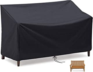 Garden Bench Cover 2/3/4 Seater, MAYHOUR Patio Sofa Chair Cover Waterproof ,Windproof and Tear proof 210D Oxford Fabric An...