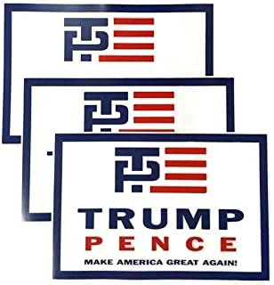 Patriotics Donald Trump Mike Pence Republican Campaign Inaugural Poster Set of 3