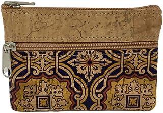 Porte-monnaie en liège portugais avec motifs