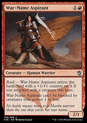 Magic The Gathering - War-Name Aspirant (126/269) - Khans of Tarkir