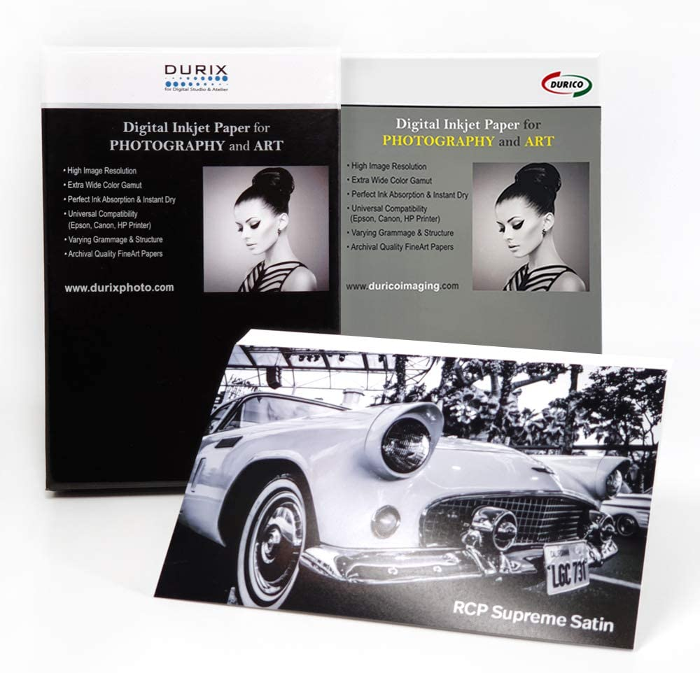 DURICO RCP Supreme Satin 270gsm Paper Photogr セットアップ for Inkjet 優先配送 Digital