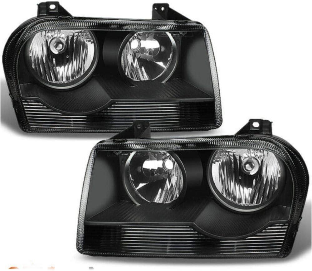 Niviora Sacramento Mall Compatible with Chrysler 05-10 Replaceme 300 online shopping Sedan Black