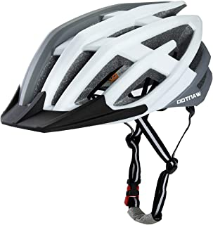 Wantdo Bike Helmet Mens Bicycle Helmets Ultralight Cycling Helmet Road Mountain Bike Helmets for Women with 23 Air Vents Lightweight with Removable Visor