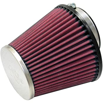 Filter Height: 4 In Shape: Round RD-0500 Washable Flange Length: 0.875 In K/&N Universal Clamp-On Air Filter: High Performance Replacement Engine Filter: Flange Diameter: 2.125 In Premium