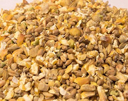 Karner Nourriture bio pour poulet, grain grossier, 30...