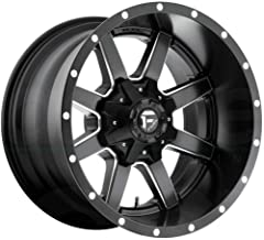 FUEL Maverick NBD-Matte BLK MIL Wheel with Painted (18 x 12. inches /6 x 135 mm, -44 mm Offset)