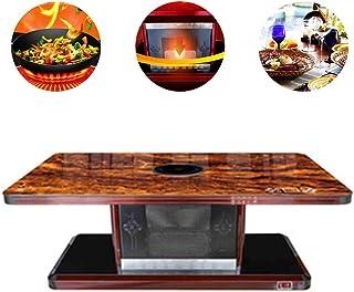 BLLJQ Mesa Calefactora Eléctrica Multifunción, Grandes Electrodomésticos, Calefacción, Electric Hob, Dining Desks Coffee Table,C