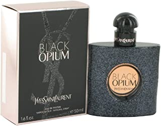 Black Opium By Yves Saint Laurent for Women Eau De Parfum Spray 1.6 OZ./ 48 ml.