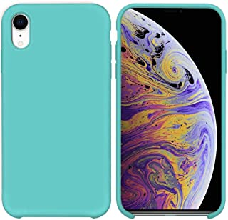 Soft Flexible Silicone Cover, Soft Fur Lining (Microfiber) Matte Color for Apple iPhone XR