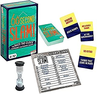 60 Second Slam! - Family Board Game