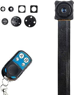 小型カメラ 隠しカメラ リモコン付き 1080P高画質 DIYミニカメラ 動体検知 防犯対策 長時間録画 遠隔操作可能 防犯監視カメラ 携帯便利 日本語取扱書付き 12ヶ月間質保証 LXMIMI