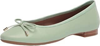 Aerosoles Women's Crystal Ballet Flat, Mint PU, 8