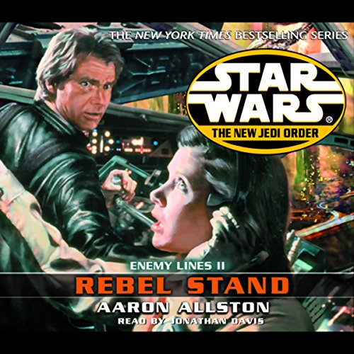 Star Wars: The New Jedi Order: Enemy Lines II: Rebel Stand audiobook cover art