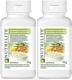 Pack 2 Glucosamina con Boswellia NUTRILITE 150 cápsulasx2 concentrado