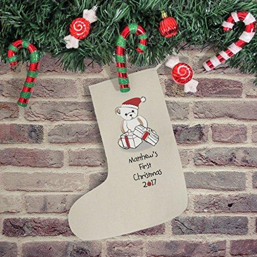 Ours MA première Chaussette de Noël