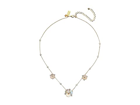 Kate Spade New York Disco Pansy Short Scatter Necklace
