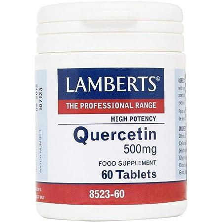 LAMBERTS QUERCITINA 500mg. 60comp.