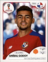 2018 Panini World Cup Stickers Russia #547 Aníbal Godoy Panama Soccer Sticker