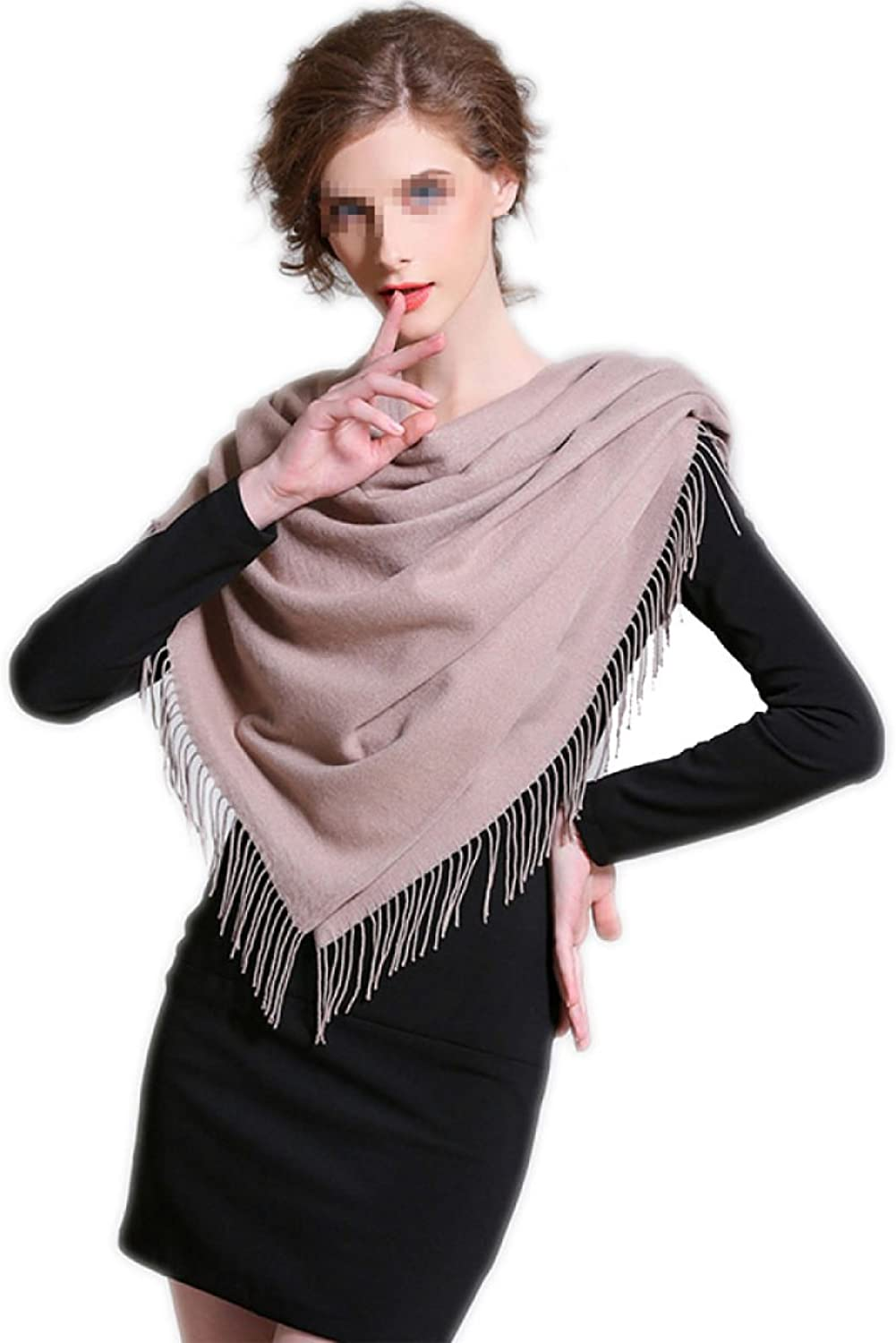 2017 Autumn And Winter New Scarf Woman Thicker Long Section Solid color Warm Big Shawl,2OneSize