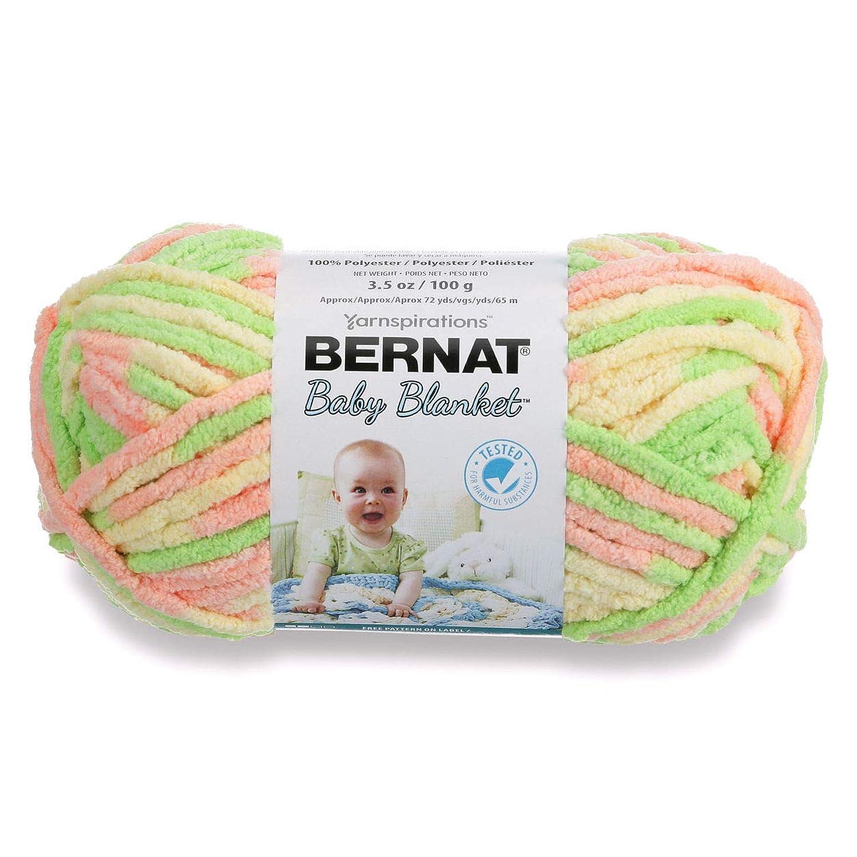 Bernat Baby Blanket Yarn (03620) Little Sunshine