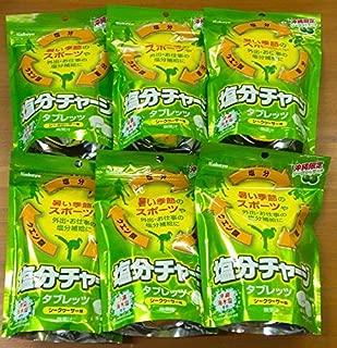 塩分チャージタブレッツ(シークワーサー味)90g×6袋