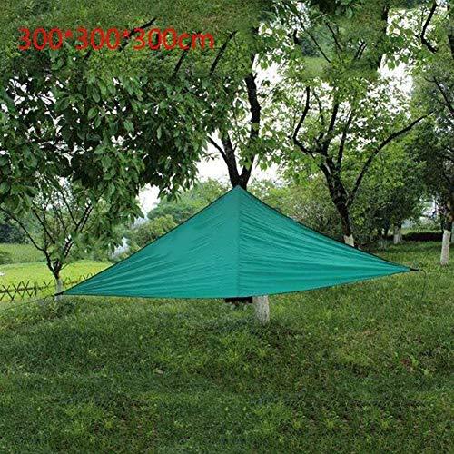 N\A Garden umbrellas Sun Shade for Garden 210D oxford cloth shade triangle rectangular canopy sunscreen Awnings Outdoor awnings canopy simple sunshade tarpaulin Patio Parasol (Color : 04)