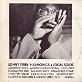 Sonny Terry-Harmonica & Vocal Solos