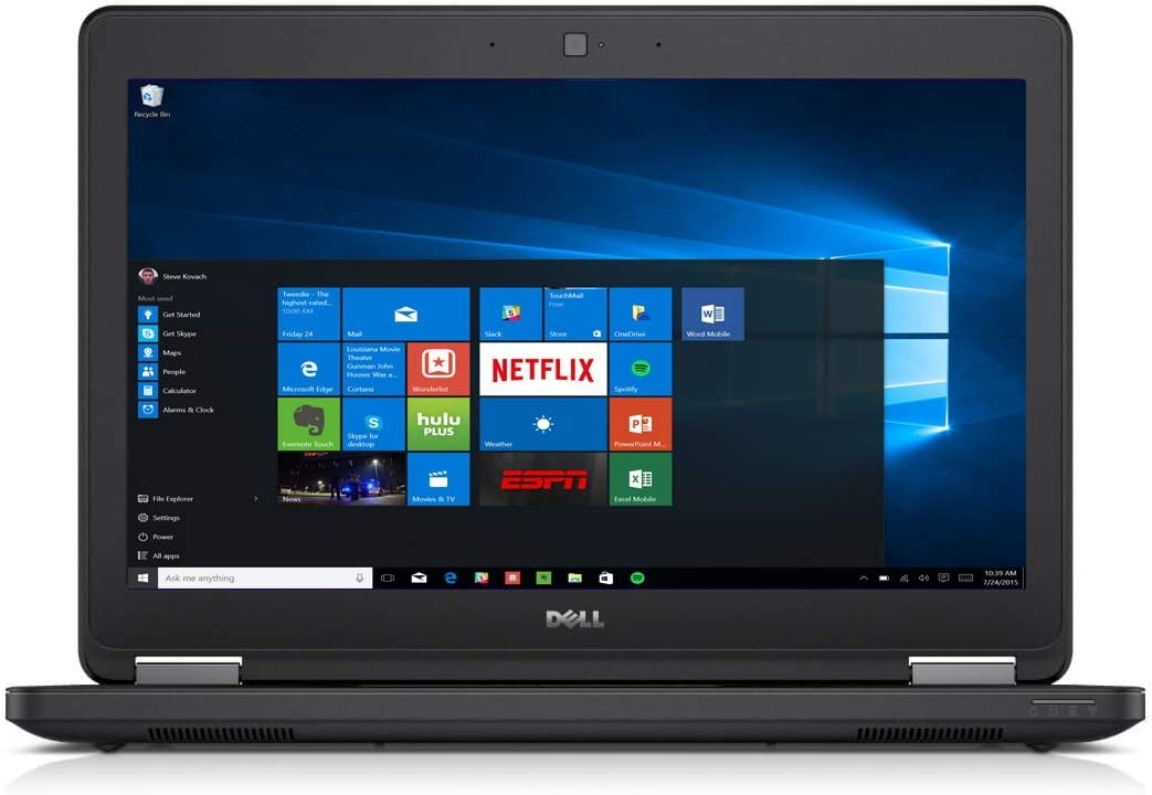 Dell Latitude E5450 14in Notebook PC - Intel Core i5-5200U 2.2GHz 8GB 500GB HDD Windows 10 Professional (Renewed)