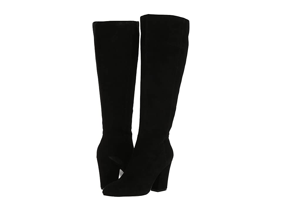 Nine West Shearling Wide Shaft (Black) Women