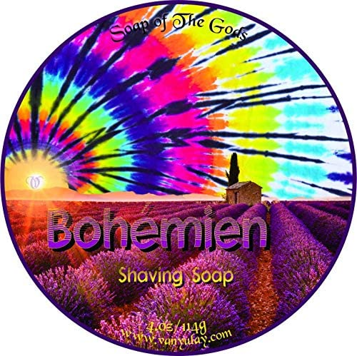 Bohemien Natural Shaving Soap Nourishing 4.0 OFFicial mail order Max 65% OFF with oz Oil Argan