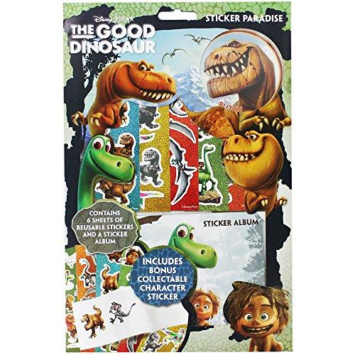 Anker The Good Dinosaure Sticker Paradis avec autocollant à collectionner