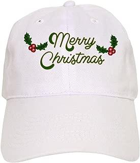 CafePress Merry Christmas Cap Baseball Cap