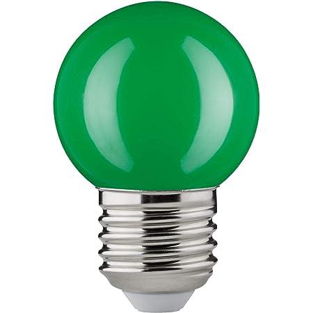 10 x Paulmann LED Leuchtmittel Tropfen 2W E27 Grün schlagfest Kugel Party bunt