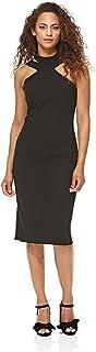 Bebe womens 0101d-001 Bebe Bodycon Dress for Women - Black
