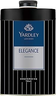 Yardley London Elegance Deodorizing Talc for Men, 100g