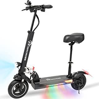 EverCross Electric Scooter, Electric Scooter for Adults with 800W Motor, Up to 28MPH & 25 Miles, Scooter for Adults with D...