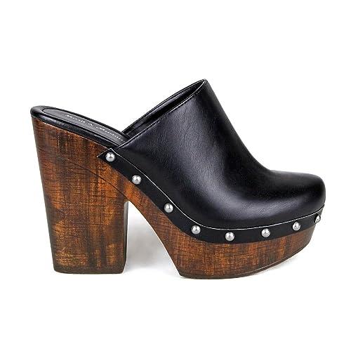2dbd44bf4cb0b High Heel Clogs: Amazon.com