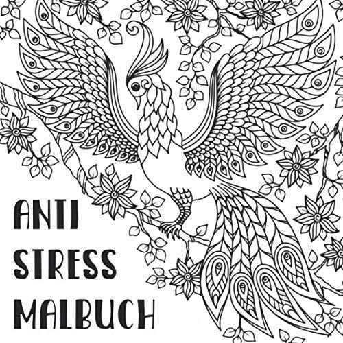 Anti Stress Malbuch: Ausmalen für mehr Ruhe und Gelassenheit | Malbuch für Erwachsene | eine schöne Geschenkidee