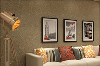 Modern design vliesbehang 9,5 m x 0,53 m imitatie korrel zand korenpatroon 3D Elegance behang voor slaapkamer woonkamer TV...