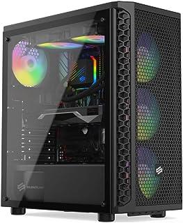 Sedatech PC Gaming Expert AMD Ryzen 5 3600 6X 3.6Ghz, Radeon RX5700 XT 8Gb, 32Gb RAM DDR4, 500Gb SSD NVMe M.2 PCIe, 3Tb HDD, USB 3.1. Ordenador de sobremesa, sin OS